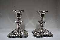 Estate Barker Ellis Candle holders