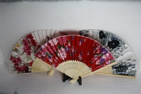 Traditional Fans Assorted