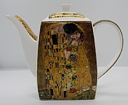 'The Kiss' Large Teapot