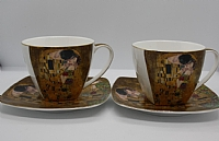 'The Kiss' Cup and Saucer Set