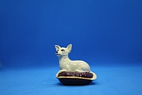 Beswick Chihuahua Dog on Cushion Figurine