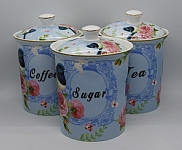 Blue Wren 3 Piece Container Set