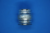 Estate Pair of Silverplate Serviette Ring