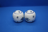 Estate Royal Doulton Salt and Pepper Shakers