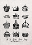 Crowns Tea Towel